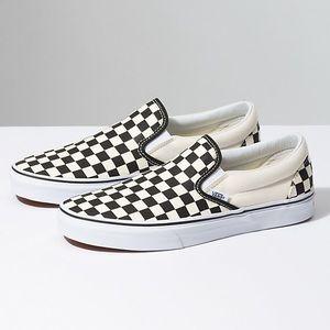 Brand New Checkerboard Vans